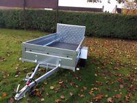 New car trailer 7.7 x4.1 and ramp - £850 inc vat