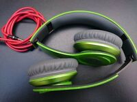 Beats HD, Solo, Dr Dre, headphones, over ear, on ear,green