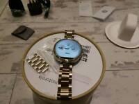 Smart watch Moto 360 gold (unisex)