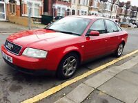Audi A6 1.9 TDI 2002 130bhp great condition