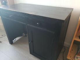 Solid wood pedestal desk for pick up only