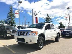 2015 Nissan Titan PRO-4X LOW KM'S LEATHER NAVI REMOTE START