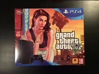 Playstation 4 Slim 500GB - Grand Theft Auto Bundle - BRAND NEW - SAVE £20