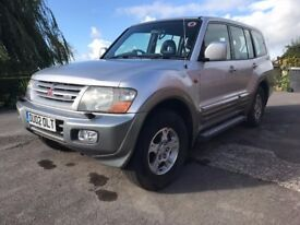 2002 Mitsubishi Pajero - Excellent Condition - Genuine Reason for Sale