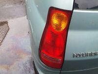 Hyundai Matrix passenger side rear light from 2002-5