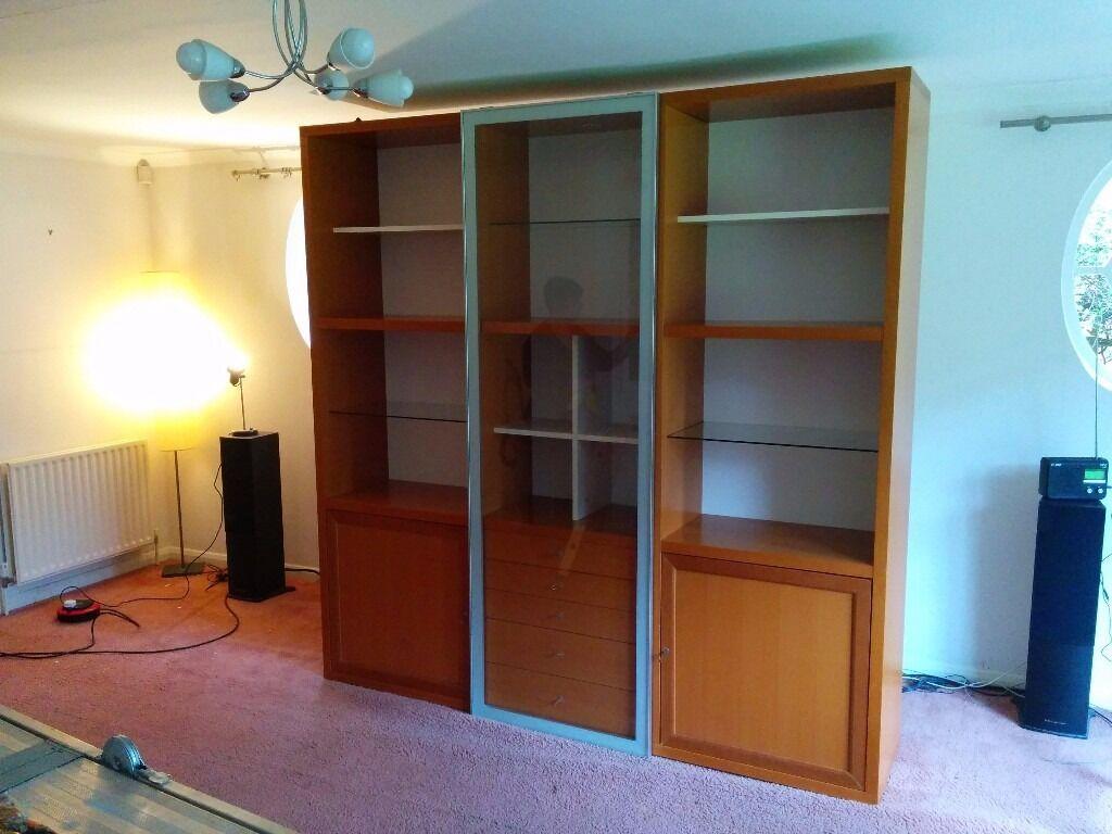 Ligne Roset Square Designer Furniture Storage Display Bookcase  # Ligne Roset Meuble Tele