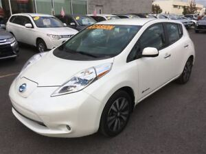 2014 Nissan LEAF SL TECH CUIR+NAVIGATION+CAMERA+MAGS