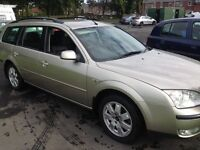 2005 Ford Mondeo estate 1.8 zetec 97,000 miles immaculate GOLD MOT 10th april 2017 just serviced .