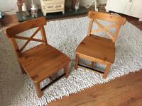 Children's Pine Chairs