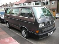 VW T25/T3 Caravelle GL 7 Seater bus, '89/90 , 1915cc 5 speed petrol