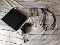 Sony PlayStation 4-Jet Black (500GB)
