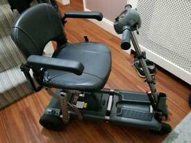 Travelux Explor aluminium folding mobility scooter