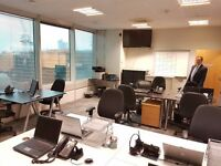 10 - 12 person private office space in London £750 p/w | Available Now !