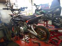 Moto pro 110cc Pitbike