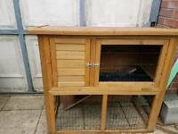 Rabbit/Chicken Small Animal Hutch Coop