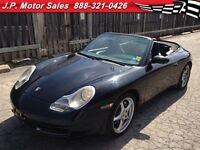 1999 Porsche 911 Carrera, Manual, Leather, Convertible,