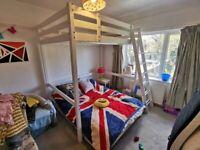 Ikea Stora Loft Bed with Mattress
