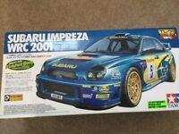 Subaru Impreza WRC 2001 radio control kit car-never used.