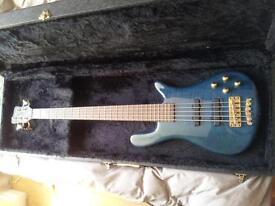 Warwick streamer lx 5 bass. In Staffordshire not Cornwall