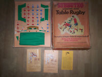 1971-2 SUBBUTEO table rugby