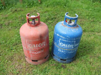 EMPTY Calor Gas Bottle (smaller size c listing) PHONE ONLY PLEASE.