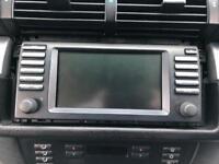 BMW E39 5 M5 X5 E53 SERIES NAVIGATION WIDE SCREEN SAT NAV SATELLITE 16:9