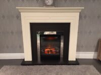 Hi selling a fireplace 1 year old like new paid 4 for it on wayfair looking 150 for it