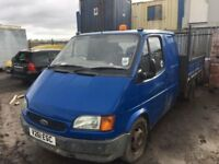 FORD TRANSIT TIPPER SPARE PARTS AVAILABLE