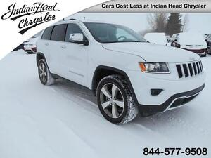 2016 Jeep Grand Cherokee Limited 4x4 | Sunroof | Bluetooth