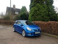 2007 VAUXHALL CORSA 1.6 TURBO VXR ARDEN BLUE NATIONWIDE DELIVERY WARRANTY AVAILABLE