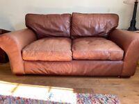 Leather Sofa - Laura Ashley