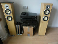 Full Size Technics Hi-Fi System Loud and Clear Please note not Neighbors Friendly