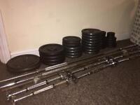 155kg cast iron weight,barbells, dumbells
