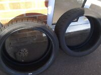 Two brand new 205/40x17 tyres