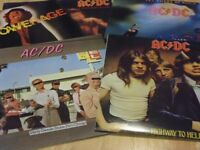 AC/DC Vinyl Albums all original pressings x 5