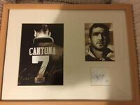 Signed Eric Cantona Picture