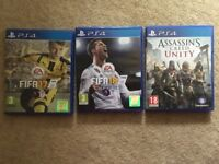 PS4 Games £10 & Under Great Condition
