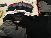 9 Next men's medium polo shirts