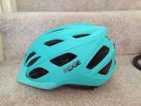 Bike helmet with back light (as new)