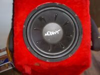 """SUB WOOFER WITH 12"""" MUTANT SPEAKER"""
