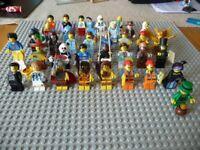 Lego Minifigs, Collectible Series, Lego Movie, POTC, Disney etc