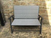 Garden Seat/Bench-2 Seater, folding, as new