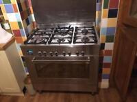Delonghi dfs903 range cooker