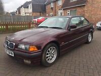 Bmw e36 328i red with service history coupe
