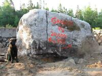 Rock breaking, boulder busting, drilling services