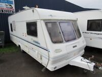 Lunar Solar Eclipse Double Dinette 5 Berth Touring Caravan 2000