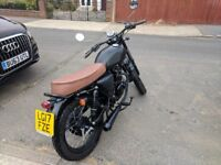 Mutt Mongrel 125cc Matte Black / Brown Seat