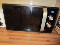 Samsung MS23F301EAK 23L 800W Freestanding Microwave in Black