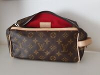 LOUIS VUITTON TOILETTE BAG POUCH HANDBAG PURSE
