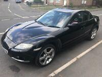 Mazda rx8 1.3 petrol 231 bhp model 55-plate! Short mot end month! Still showing tax! £695!!!